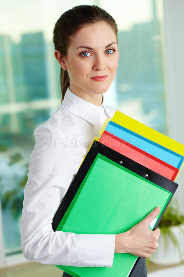Download Pretty businesswoman stock image. Image of human, lovely - 26817417