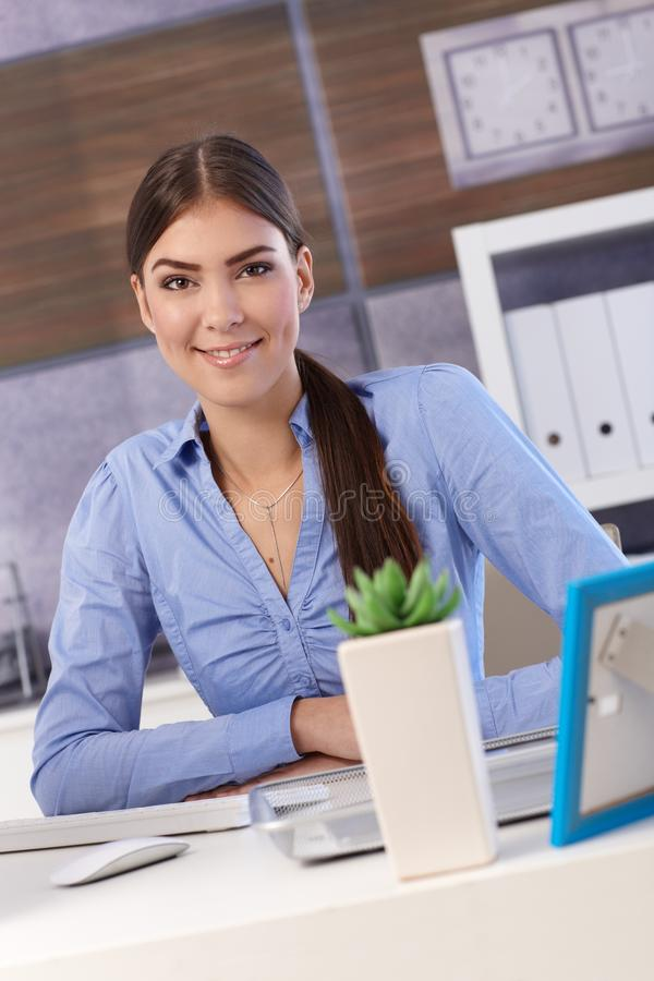 Download Pretty Businesswoman In Office Stock Photo - Image: 26802230