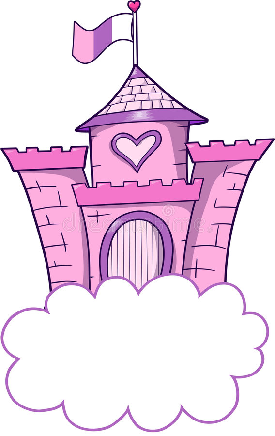 Free Pretty Castle Vector Royalty Free Stock Image - 4081406