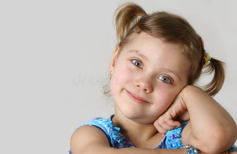 Pretty child royalty free stock photos
