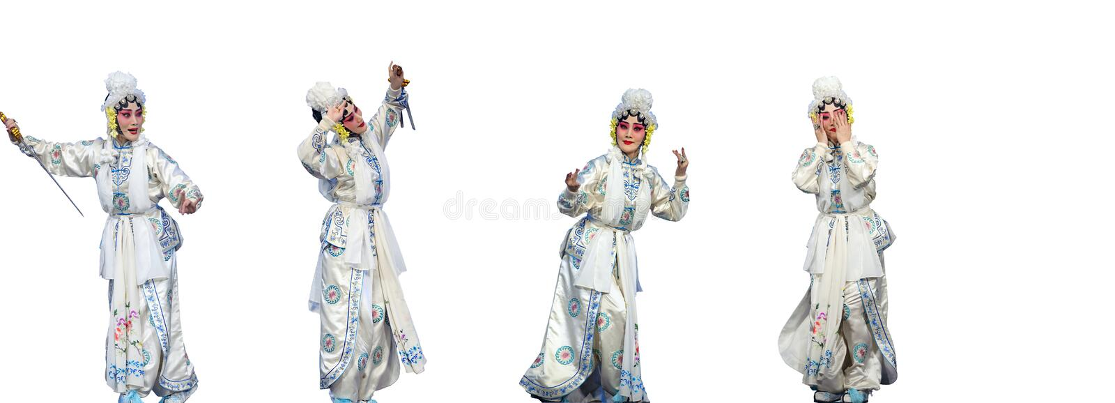 Download Pretty Chinese Taditional Opera Actress Stock Photo - Image: 24886994