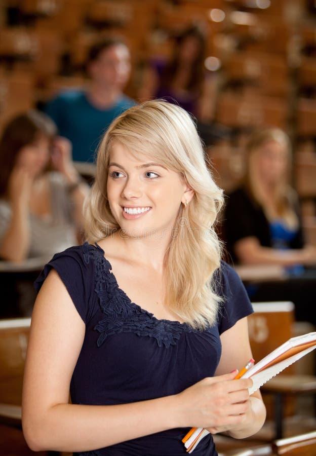 Pretty College Girl Stock Image