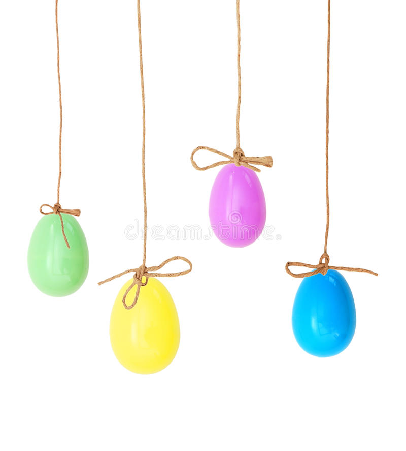 Download Pretty Colorful Easter Eggs Stock Image - Image: 28150599