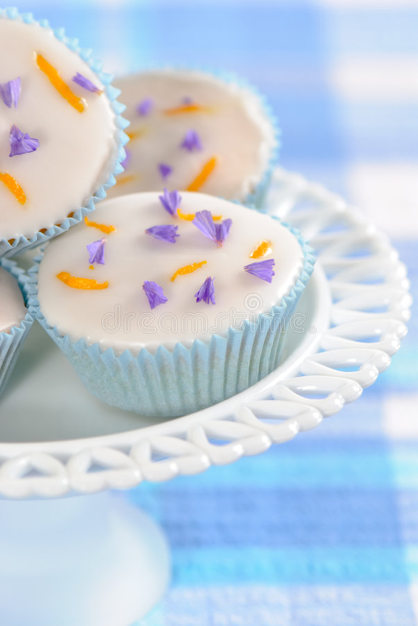 Download Pretty Cupcakes stock photo. Image of display, cakes, frosting - 9333006