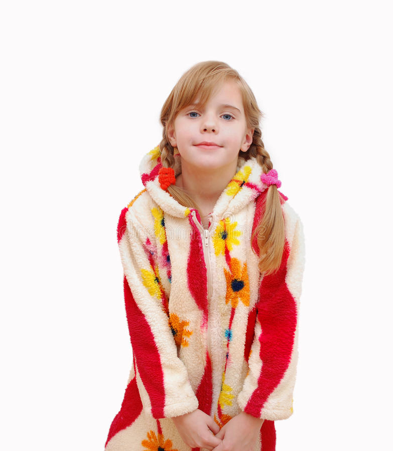 Download Pretty Curly Blond Little Girl Royalty Free Stock Image - Image: 12799546