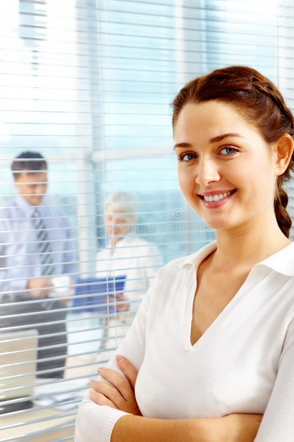 Download Pretty employer stock image. Image of female, chief, corporate - 16125667