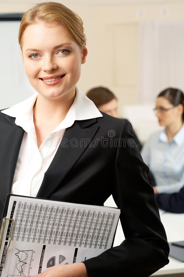 Download Pretty employer stock image. Image of expertise, caucasian - 20682277