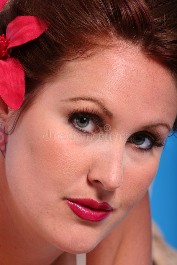 Download Pretty Face stock image. Image of female, headshot, lips - 171411
