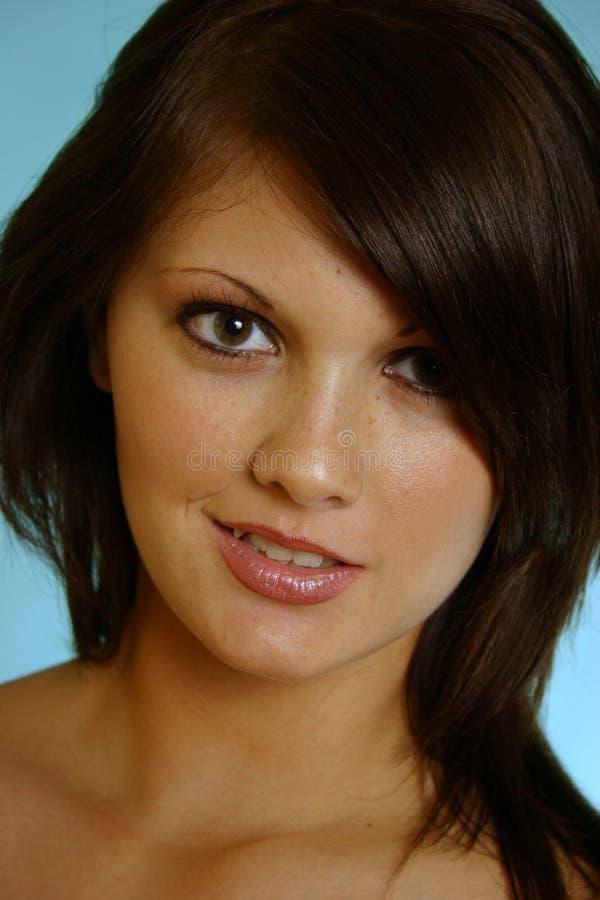 Pretty face stock photos