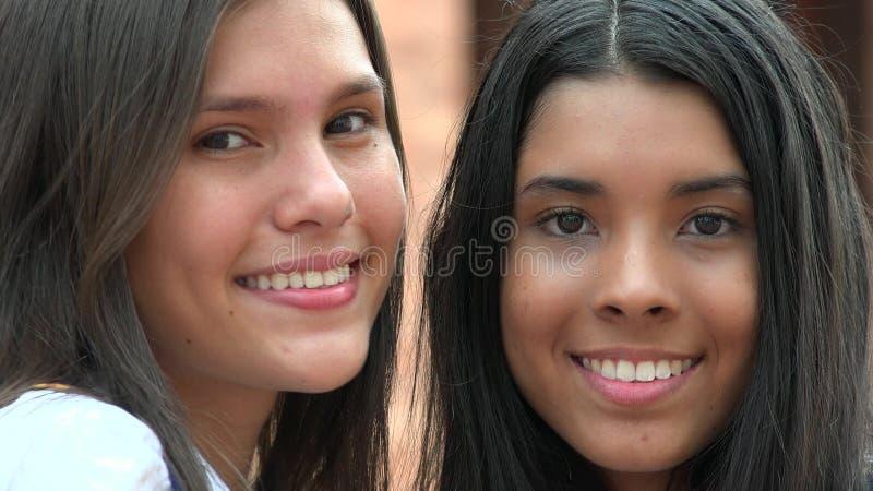 Pretty Faces Smiling Diversity royalty free stock photos
