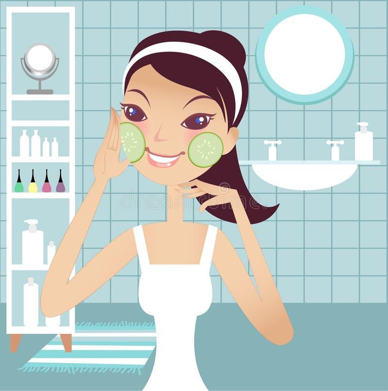 Download Pretty facial girl stock vector. Illustration of girl - 3000676