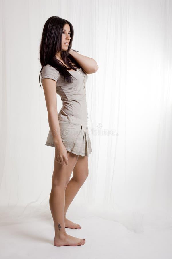 Download Pretty fashion girl stock photo. Image of fashion, hair - 14843886