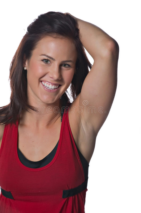 Download Pretty female athlete stock image. Image of healthy, health - 13363133