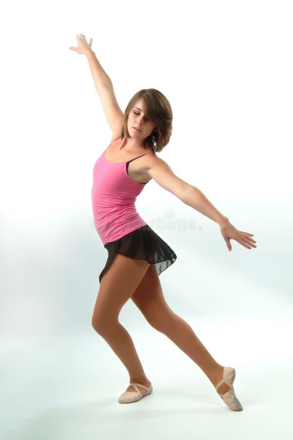 Pretty Female Dancer stock image