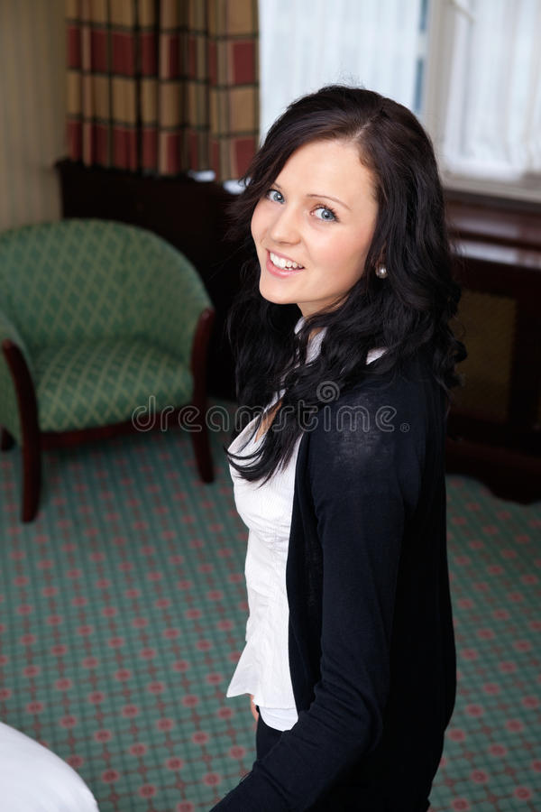 Pretty Female Smiling royalty free stock photography