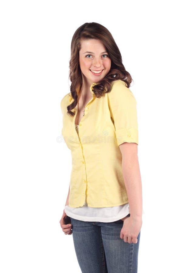 Download Pretty female teen stock image. Image of pretty, happy - 14265177