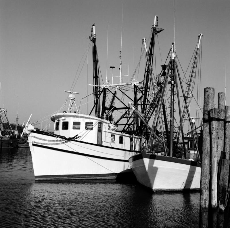 Pretty Fishing Boats in Ocean City Maryland stock photography