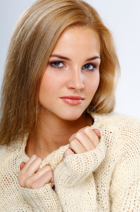 Download Pretty girl stock photo. Image of portrait, woman, nice - 2810670
