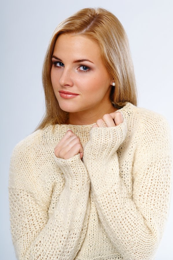 Download Pretty girl stock photo. Image of cold, beauty, girl, smile - 2839184