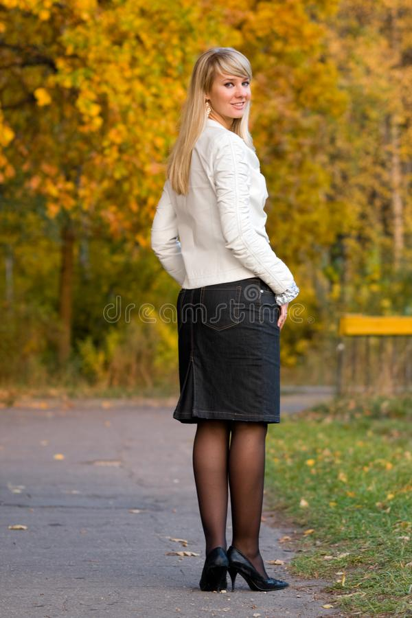 Download Pretty girl stock image. Image of composure, leggy, long - 8913767