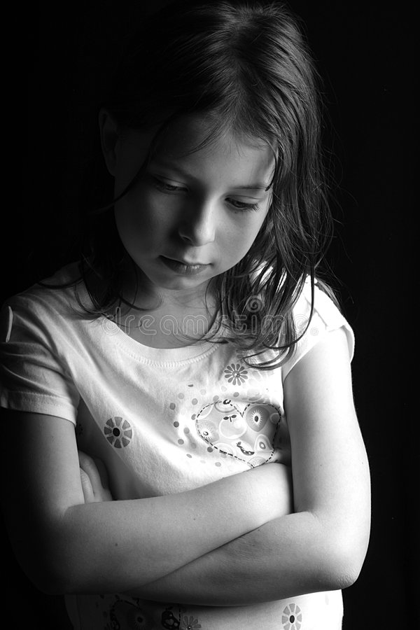 Pretty Girl - Arms Crossed - D stock images