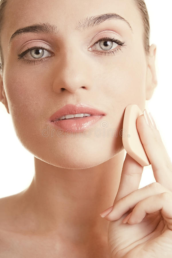 Download Pretty Girl With Beautiful Skin Stock Image - Image: 20099783