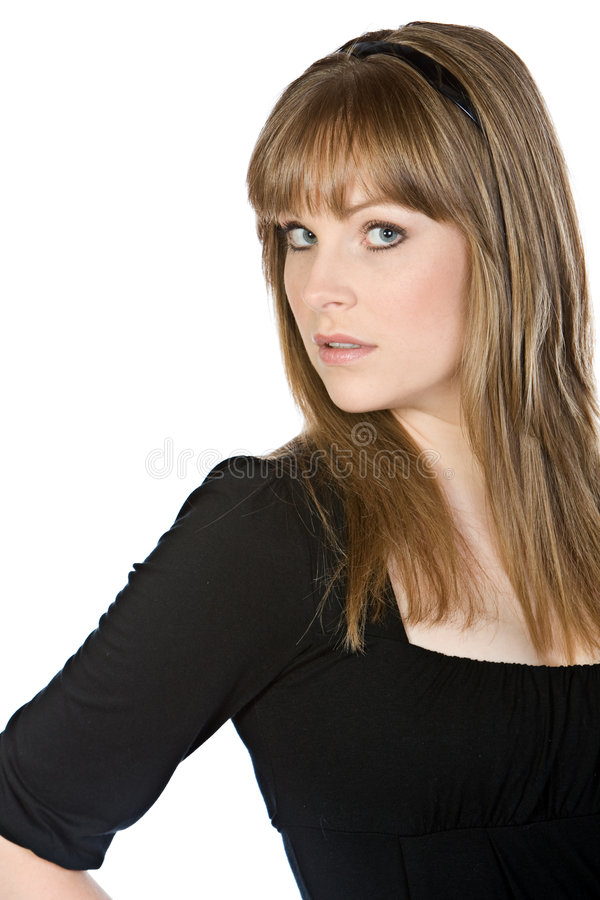 Download Pretty Girl With Fringe Royalty Free Stock Photo - Image: 9137945