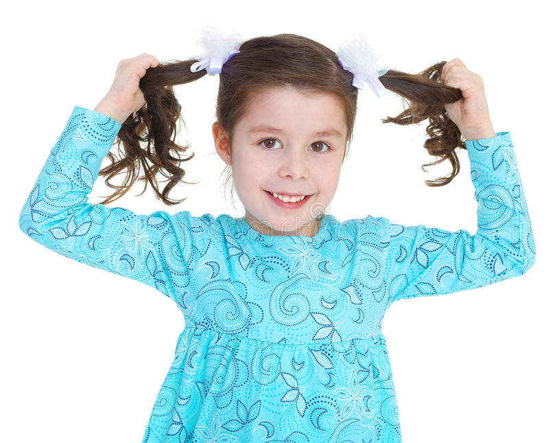 Download The Pretty Girl Holding Itself For Braid. Stock Photo - Image: 38888350