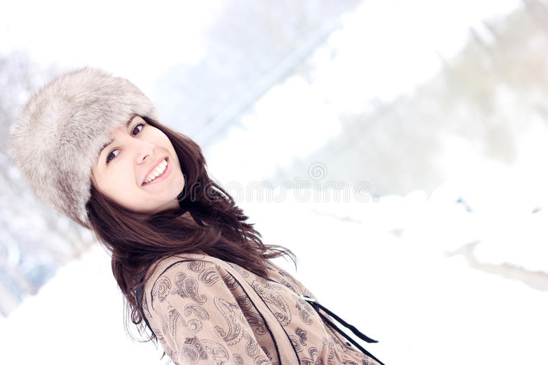 Download Pretty Girl With Lovely Smile Stock Image - Image: 19013761
