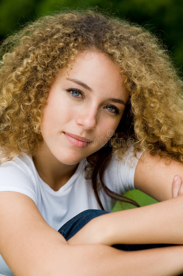 Download Pretty Girl Outside stock photo. Image of student, beauty - 4957658