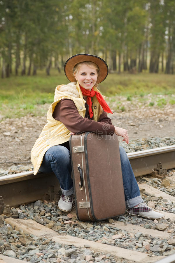 Rail Sad Teenager Stock Images, Royalty-Free Images