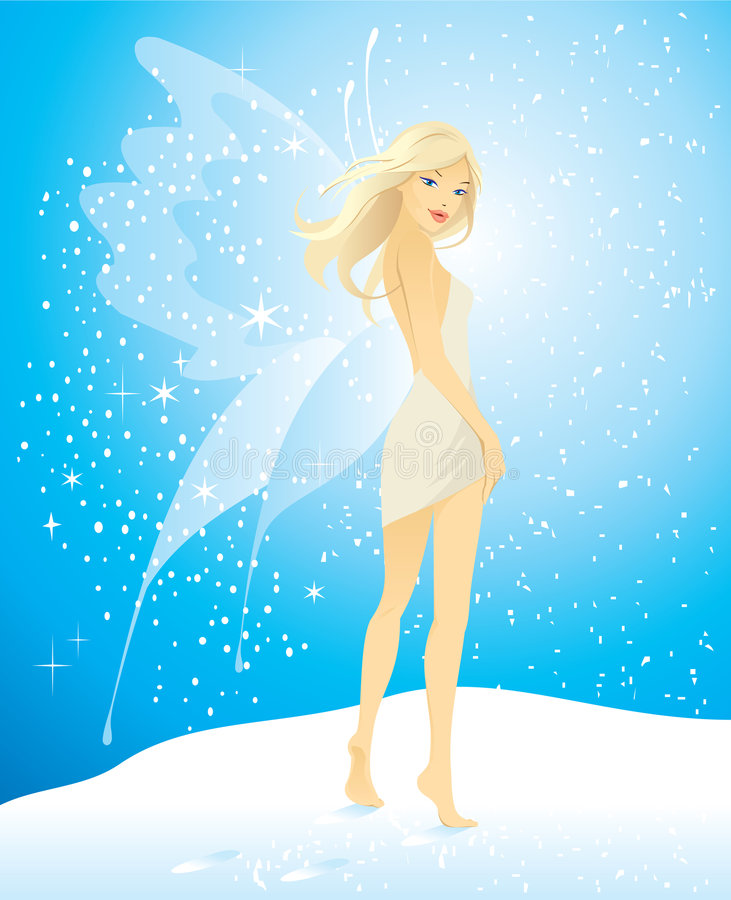 Free Pretty Girl With Butterfly Wings Stock Photos - 4184333