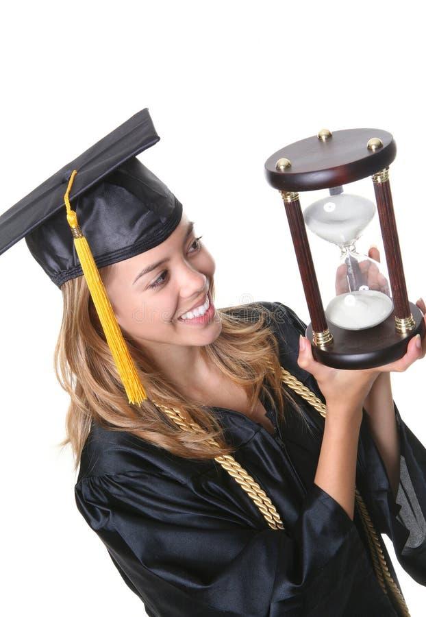 Pretty Graduate stock image