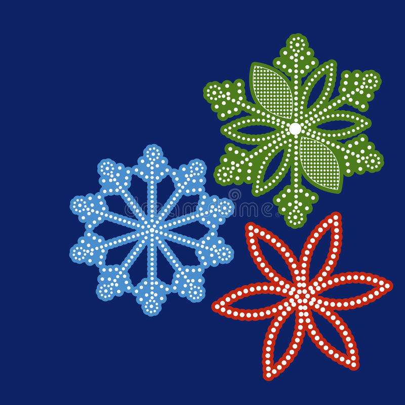 Pretty graphical snowflakes