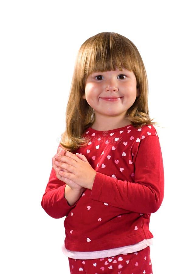 Pretty happy kind girl stock image. Image of cute, innocence - 3180567