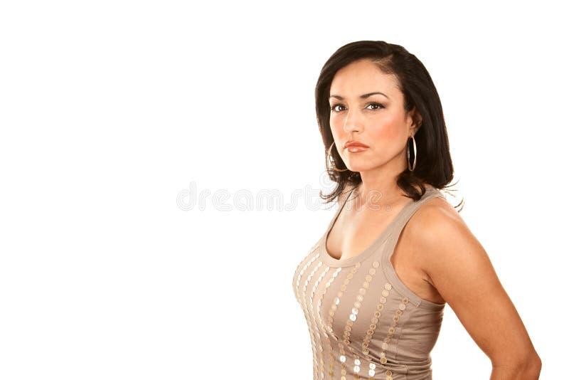 Download Pretty Latina Woman stock photo. Image of beautifu, confident - 12386886