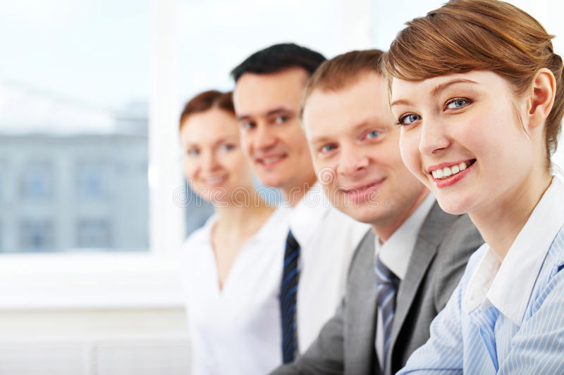Download Pretty leader stock photo. Image of career, face, background - 20418622