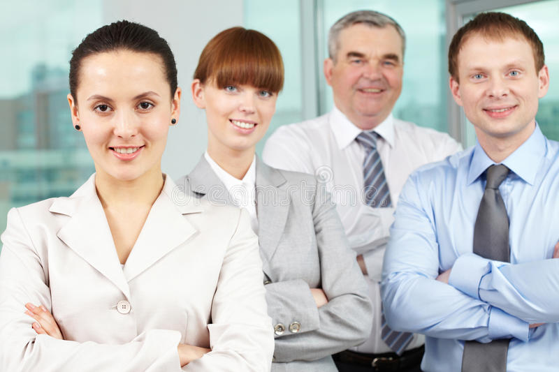 Download Pretty leader stock image. Image of associate, confident - 21260051