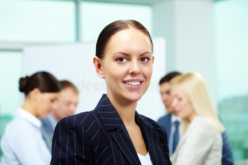 Pretty Leader Stock Photography