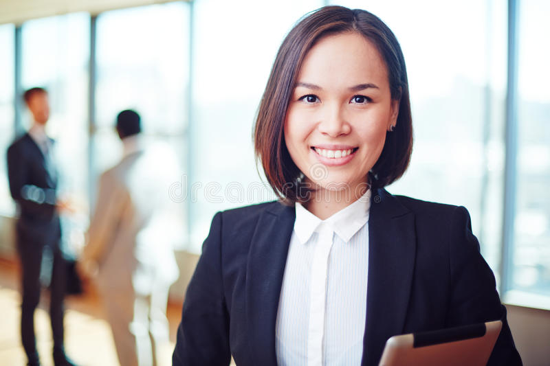 Download Pretty leader stock photo. Image of corporate, people - 52875990