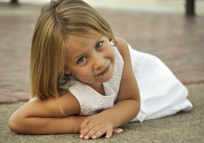 Portrait Of A Sad Little Girl Stock Photo - Image: 62473131