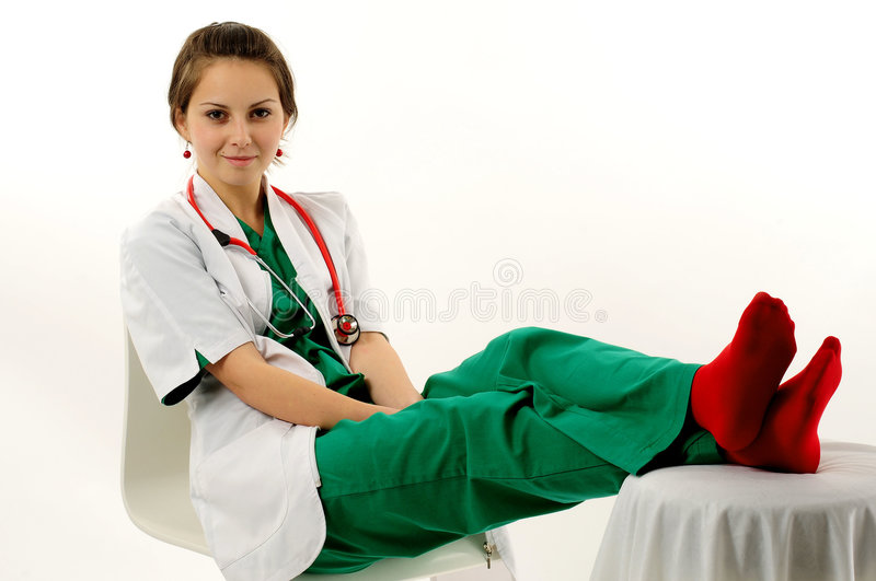 Download Pretty medical woman stock image. Image of general, practitioner - 7249175