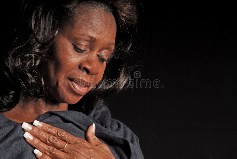 Download Pretty Middle Aged Black Woman Stock Image - Image: 4750201