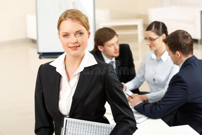 Download Pretty office worker stock photo. Image of male, caucasian - 20682274
