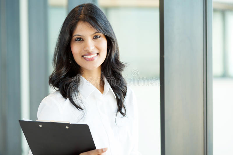 Pretty Office Worker Stock Photography