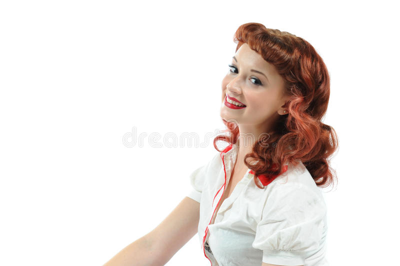 Download A pretty pin up girl stock photo. Image of pretty, attractive - 15446412
