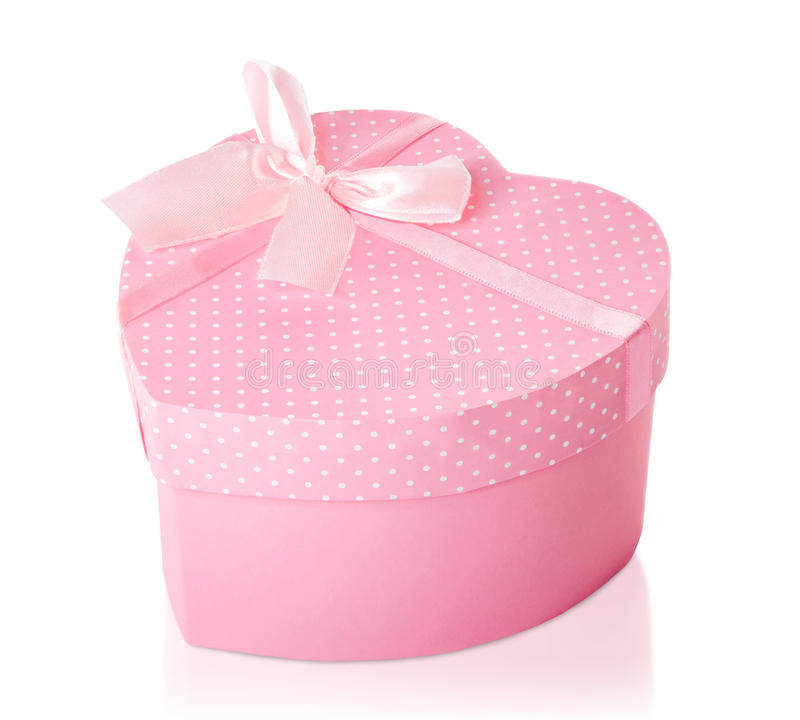 Pretty pink heart shaped gift box stock photo image of present download pretty pink heart shaped gift box stock photo image of present pink negle Images