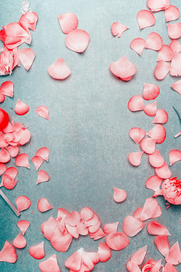 Pretty pink pastel petals of flowers on turquoise rustic background download pretty pink pastel petals of flowers on turquoise rustic background flat lay top mightylinksfo Gallery