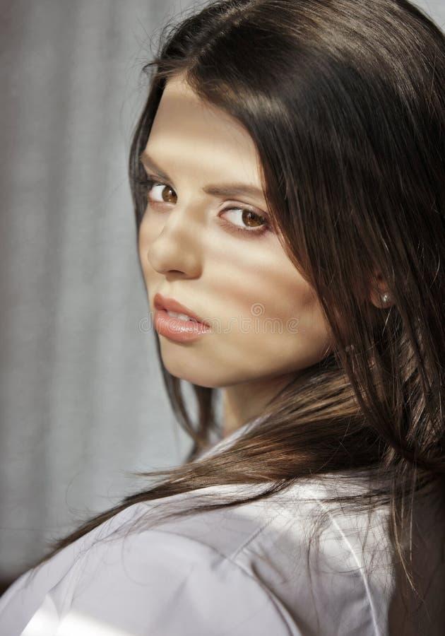 Pretty Portrait Stock Photo
