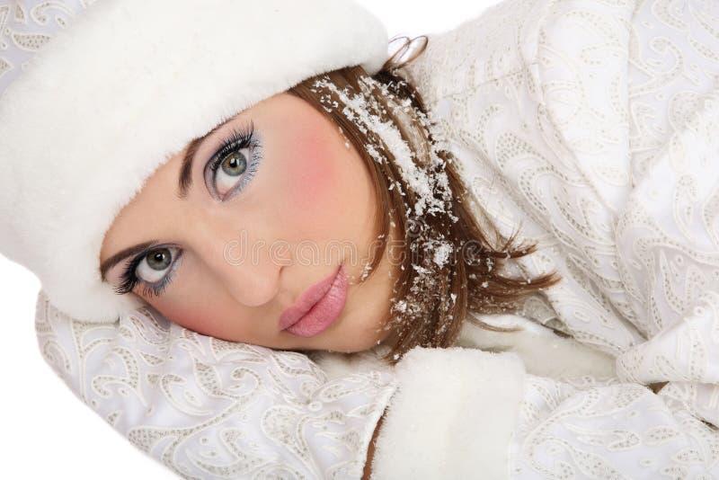 Download Pretty Santa helper stock photo. Image of seductive, girl - 7245596